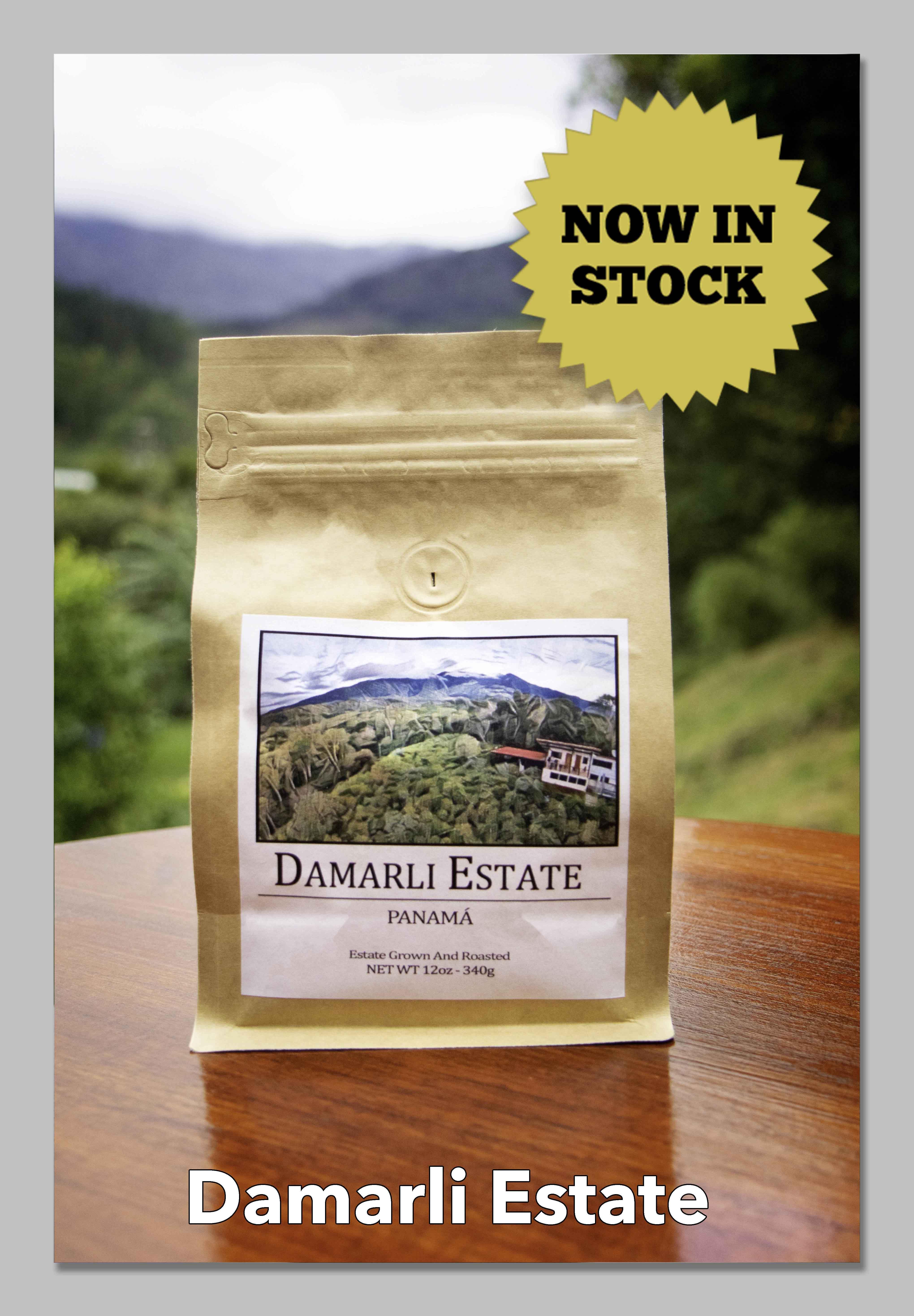 Damarli Estate Coffee Wholesale